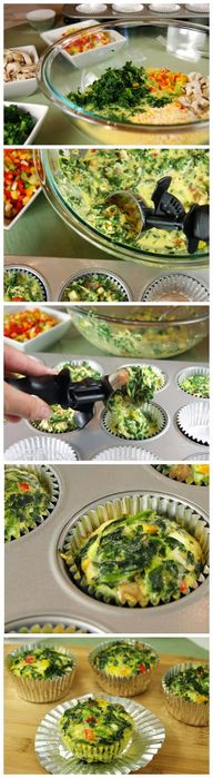 Vegetable Quiche Cup