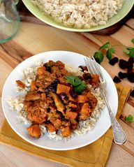 curry recipe, squash