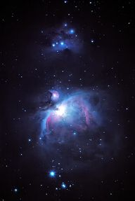 Orion Nebula and run
