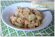 Potato salad with av...