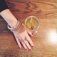 Kendra Scott ring.