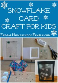 Snowflake Card Craft