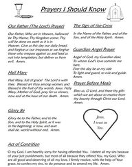 for Catholics Prayer...