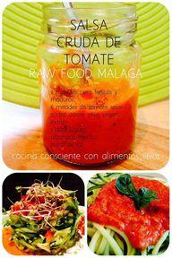 salsa cruda de tomat