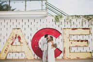 Modern Ace Hotel wed