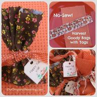 EASY No-Sew Harvest