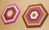 Fuse Bead Coasters b