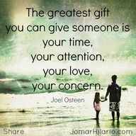"""""""The greatest gift y"""
