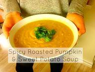 Vegan Roasted Pumpki
