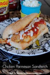 Easy Chicken Parmesa