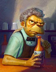 Moe - The Simpsons T