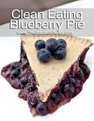 Clean Eating Blueber