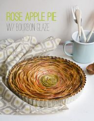 Rose Apple Pie with
