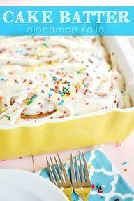Cake Batter Cinnamon