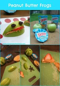Peanut Butter Frogs