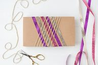 Glitter lines gift w