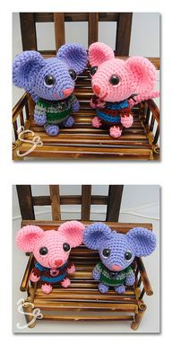 Ravelry: koko rat pattern by Lis Chaong