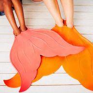 Mermaid tail flipper