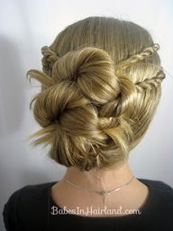 Rope Braid Hairstyle