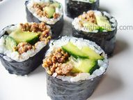 Ground Beef Maki Sus...