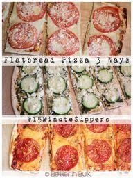 Flatbread Pizzas – 3