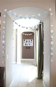 Paper garland - very