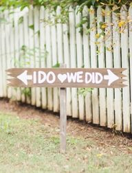 adorable outdoor wed