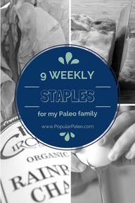 9 Weekly Staples For