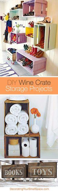 DIY Wine Crate Stora