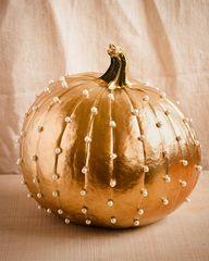 Gold & Pearls Pumpki