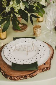 Rustic glam table se