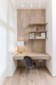 Simple wood office n