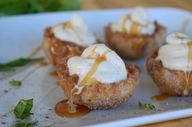 Crispy Churro Cups w...