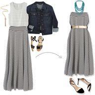 Great skirt & ideas!