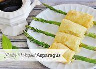Pastry Wrapped Aspar
