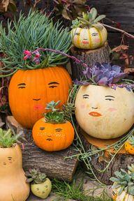 Make a DIY pumpkin f