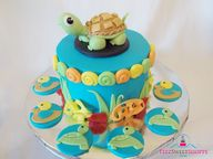 Very cute pond cake!