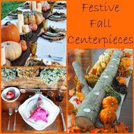 Festive Fall Centerp