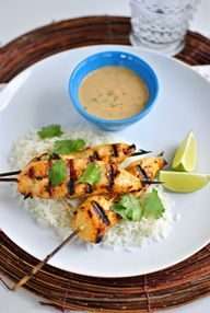 Thai Chicken Satay a