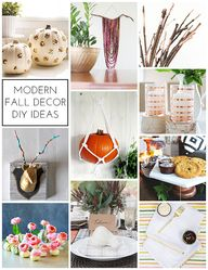 Modern Fall Decor DI