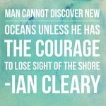 #courage #discovery