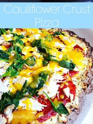 Cauliflower Pizza Cr