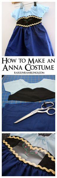 DIY Frozen Anna Cost