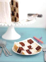 Checkerboard Cake |