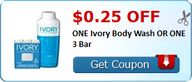 $0.25 off ONE Ivory
