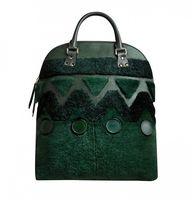 A rich green hue mak
