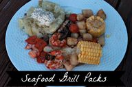 simple seafood grill