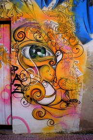 Graffiti Eye