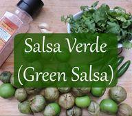Salsa Verde/Green Sa