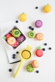 DIY fruit macarons |